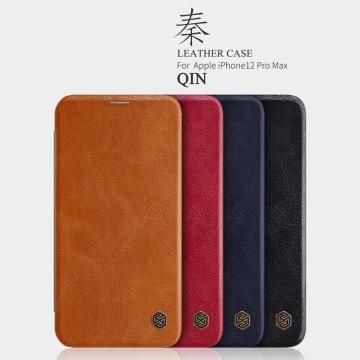 Bao da iPhone 12 ProMax - NILLKIN QIN series